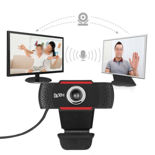 12 Megapixels HD USB 2.0 Webcam Camera with MIC Clip-on for