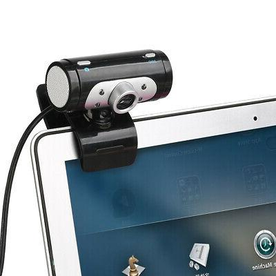 USB With MIC Clip-on Computer Laptops 30FPS