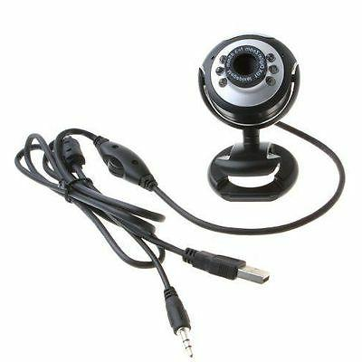 USB 50.0 M LED Webcam Cam With in Mic for PC