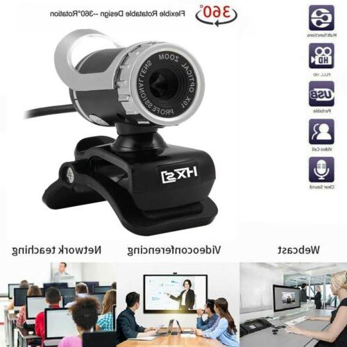 USB Computer Camera PC Laptop HD Webcam Camera with Micropho