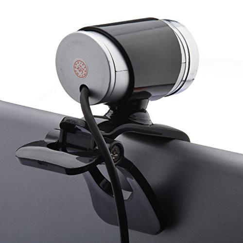 Cimkiz Webcam, HD with Built-in PC Camera and for Computer MAC