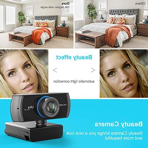 Full HD 1080P/1536P, Widescreen Recording, with Microphone, Stream for Desktop