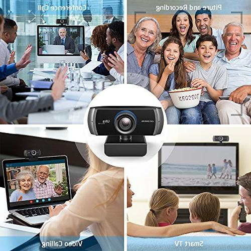 Full Recording, Digital Camera with Microphone, for PC, Desktop