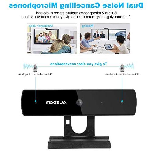 Full Webcam Widescreen Web Mic Calling and and Play Web Cam PC Compatible Mac