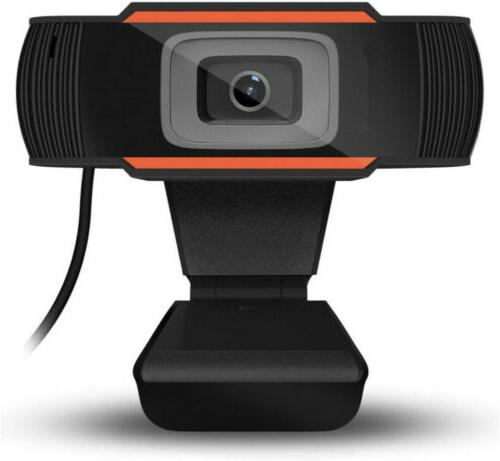 1080P Webcam With Microphone Camera For Desktop
