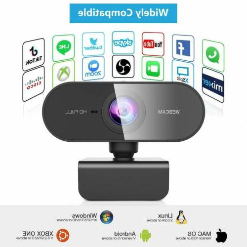 Webcam HD 1080P Streaming for MAC Laptops