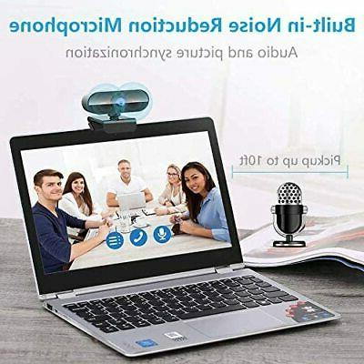 Webcam Microphone Full HD for Laptops