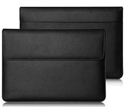 Premium Leather Busniess Carrying Sleeve bag Breifcase Cover