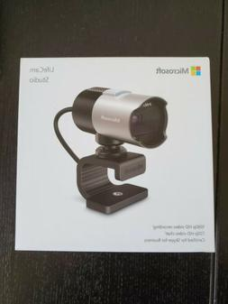 Microsoft LifeCam Studio HD  WebCam USB Built-in Microphone