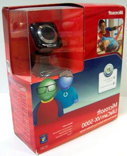 Microsoft LifeCam VX-5000 Web Cam NEW in Sealed Box Great fo