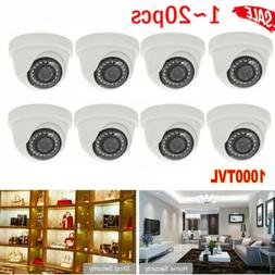 LOT 1000TVL 3.6mm Night Vision IR Outdoor Indoor CCTV Securi
