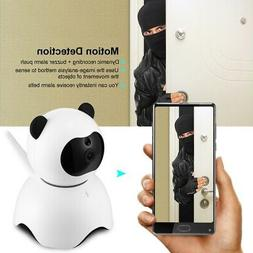 LY100PD6 Intelligent IP Camera Cute Panda-shaped Webcam for