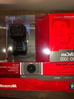 Microsoft LifeCam HD-5000 720p HD Widescreen Webcam 1415 - B