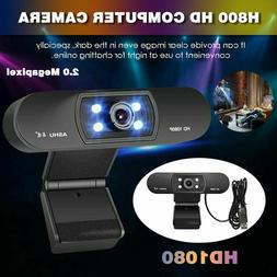 NEW 1080p Web Camera USB 2.0 60 FPS PC Laptop For Video Chat