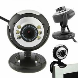 NEW 6 LED USB 2.0 WEBCAM CAMERA for MAC, XP, VISTA, WINDOWS