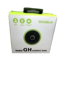 NEW AUSDOM AW615 1080p PC HD WebCam 12MP with Built-in Mic