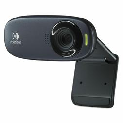 New Logitech C310 HD Webcam 720P 5MP HD Computer Video Strea