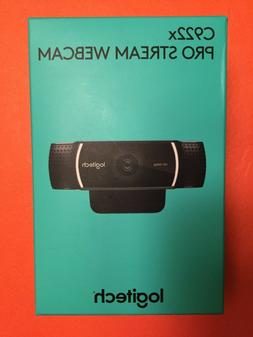 NEW IN BOX Logitech C922x Pro Stream Webcam – Full 1080p H