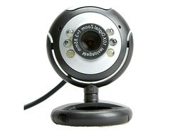 New USB WebCam 6LED 180 Degree Web Cam with Mic for Desktop/