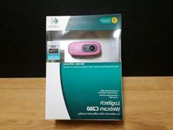 NEW Logitech Video Calling and Recording Webcam C260 - PINK