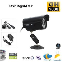 Outdoor 960P IP Wired Network Camera Home Security IR P2P We