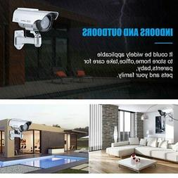Outdoor Indoor Security Solar Power Dummy CCD Camera Built I