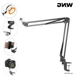 Overhead Tripod Mount for Camera Webcam Ring Light Flexible
