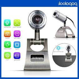 PAPALOOK PA150 USB 2.0/3.0 Web Camera Web Cam Microphone for