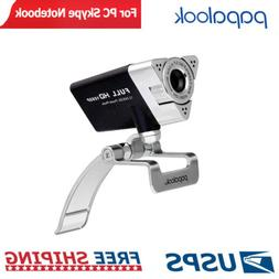 PAPALOOK PA187 HD Webcam Computer Camera with Microphone for