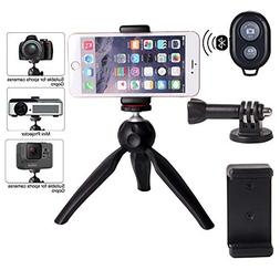 Regetek Phone Tripod Mini Camera Tripod Portable Stand Holde