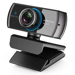 HD Stream Webcam 1536/1080P Wide Angle Cam for Video Streami