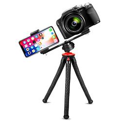"Fotopro UFO Plus Phone Tripod with Dual 1/4"" Screw Camera Mo"