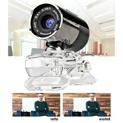 USB 12 Megapixel HD Webcam Web Cam Camera w/ MIC for Compute