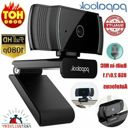 PAPALOOK USB 2.0 1080P HD Webcam Camera Autofocus for Comput