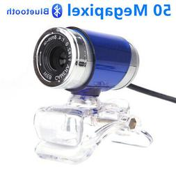 USB 2.0 50 Megapixel HD Camera Web Cam with MIC Clip-on 360