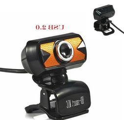 USB 2.0 HD Auto focus Webcam Camera With Microphone LED For