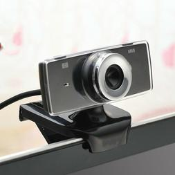 USB 2.0 Web Camera with Microphone Webcam for Computer PC La