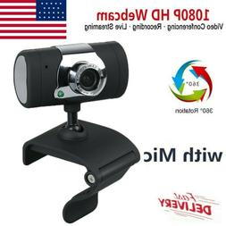 USB 2.0 WEBCAM CAMERA With MIC for MAC, XP, VISTA, WINDOWS 7