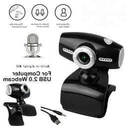 USB 2.0 Webcam Camera with Mic for M A C/XP/VISTA/WINDOWS 7