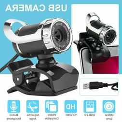 USB Computer Camera Laptop HD Webcam MIC Camera Microphone V