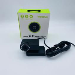 Ausdom USB Computer Web Camera HD Webcam 1080P with Micropho