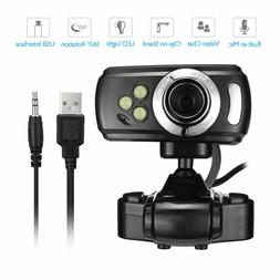 USB Webcam 1080P HD Camera with mic for HP Dell Toshiba sony