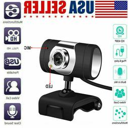 USB Webcam Camera with mic for HP Dell Toshiba sony computer