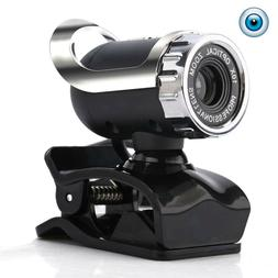 USB Webcam HD with Built-in MIC PC Camera Plug and Play for