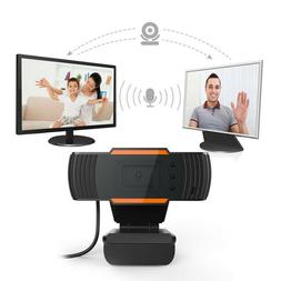 USB2.0 12MP Webcam 720P HD LED WebCamera with Microphone For