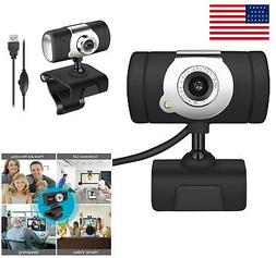 USB2.0 HD Webcam Camera Web Cam With Microphone For Computer