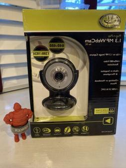 Gear Head WC740I-CP10 1.3 MP WEBCAM PRO USB 2.0 SNAPSHOT & M