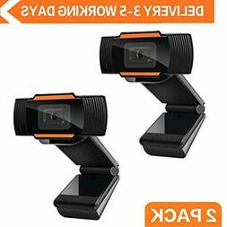 Webcam 1080P Auto Focus Full HD Widescreen Web Camera with M