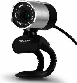 Webcam 1080P HD with Manual Focus, Built-in MIC, Plug and Pl