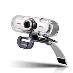 Webcam 1080P,PAPALOOK PA452 HD Web Camera with Mic&Colorful
